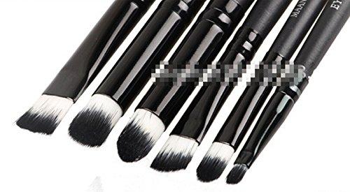1 Set 6pcs Set Maquillage Pro cosmétiques Brosses Eye Set Brosse à paupières Ombre à paupières Outils
