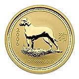 "1 oz Australien 2006 Lunar I ""Year of the Dog"" (Hund) 1 Unze 999,9 Gold"