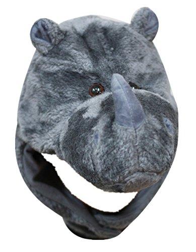 Petitebelle Kopfbedeckung / Maske, Design: Nashorn, Kostüm-Zubehör für -