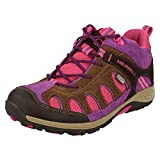 Merrell Chameleon Mid Lace Waterproof, Girls' High Rise Hiking Shoes