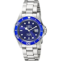 Invicta 9308 40mm Silver Steel Bracelet & Case flame fusion Men's Watch