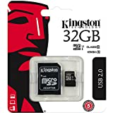 Kingston Scheda di memoria MicroSD da 32 GB per Samsung Galaxy J5/J5 Duos - 32 GB