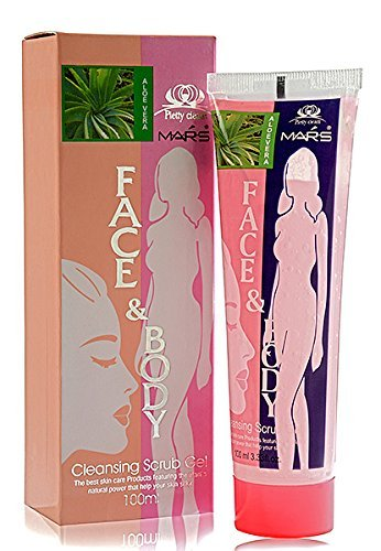 DCS Mars Face & Body Cleansing Scrub Gel 100ml Aloevera  available at amazon for Rs.155