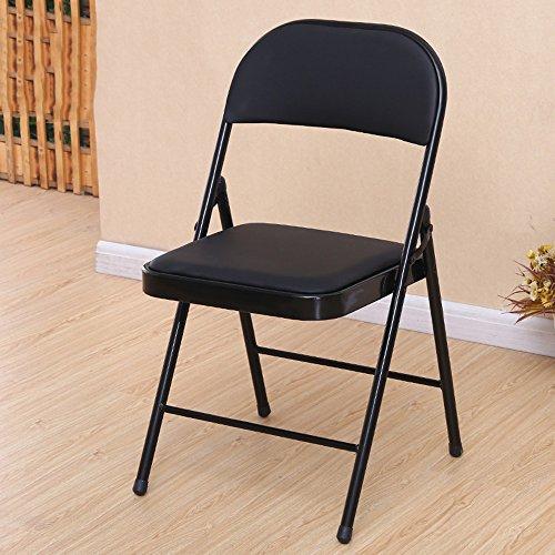 LJHA Tabouret pliable Ordinateur chaise pliante Siège arrière Mahjong tabouret Chaise à manger Adulte portable 8 couleurs en option Le nombre de facultatif chaise patchwork (Couleur : A, taille : 1#)