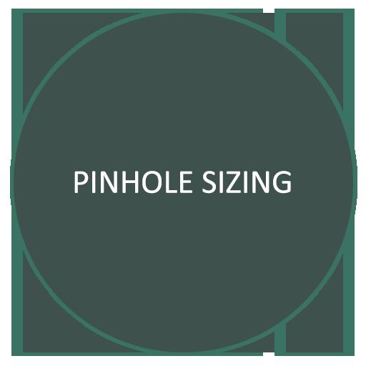pinhole-sizing