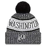 New Era NFL Sideline 2018 Bobble Mütze Washington Redskins