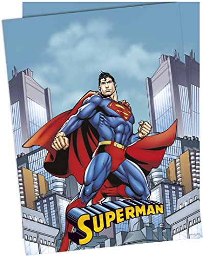 DC Comic Kunststoff 1,2x1,8m (Superman Party Supplies)