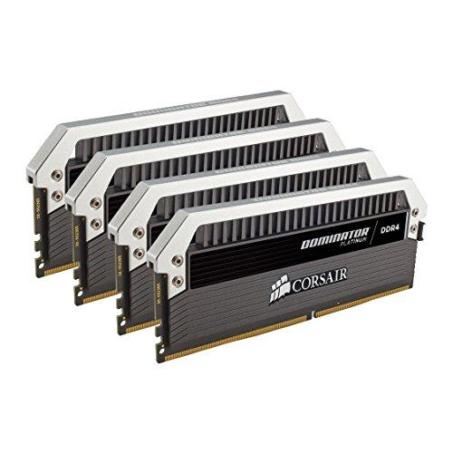 Corsair Dominator Platinum Kit di Memoria per Desktop a Elevate Prestazioni, DDR4 64GB (4x16GB), 3200 MHz C16 XMP 2.0