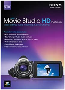 Sony Vegas Movie Studio HD Platinum Production Suite 11 (PC)