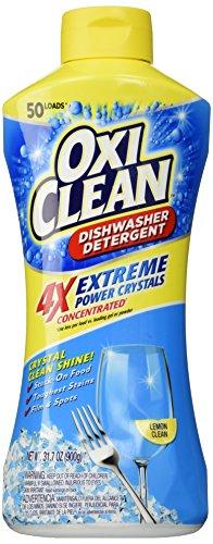 OxiClean Dishwasher Detergent, Lemon Clean, 31.7 Oz