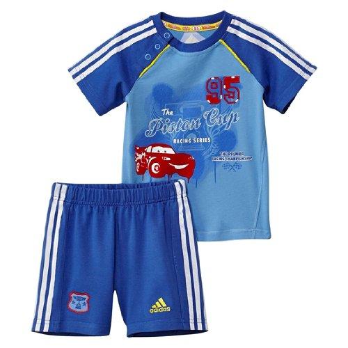 Adidas Jungen Disney Cars Shorts Set z29952Navy/Solar Blue -