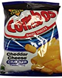 Combos Cheddar Cheese Cracker 178.6g (Pack of 3)