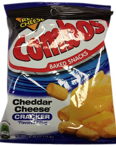 Combos Cheddar Cheese Cracker 178.6g (Pack of 3) ...