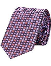 Tiekart Multi Color Formal Skinny Microfiber Necktie for Men