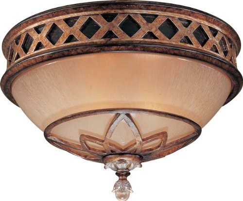 Aston Court (Minka Lavery 1755-206 2 Light Flush Mount, Aston Court Bronze Finish by Minka Lavery)