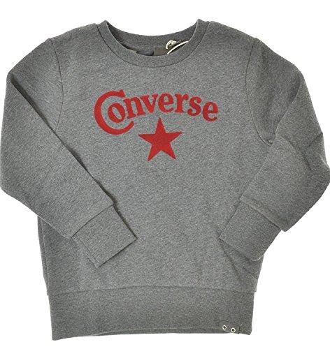 Converse Premium Logo Crewneck Grau Gr. 116