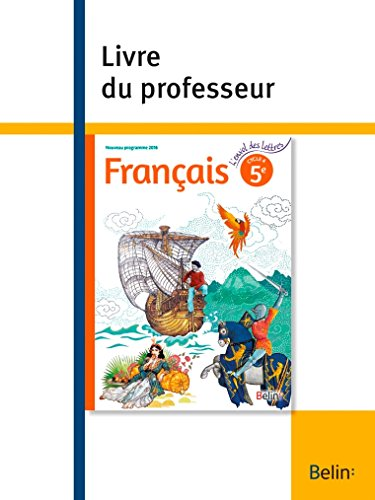 Telecharger Francais 5e L Envol Des Lettres Livre Du