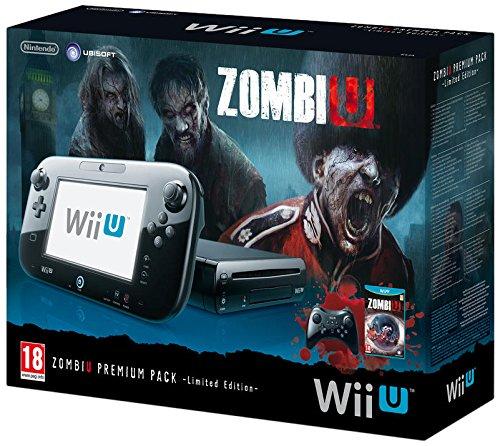 Console Nintendo Wii U 32 Go noire – 'ZombiU' premium pack