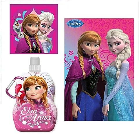 Frozen La Reine des Neiges de Disney Lot 3'Gourde +