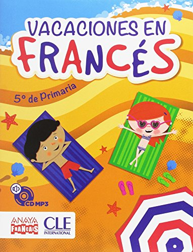 Cahier de Vacances 5e Primaria + CD Anaya - 9788466791403