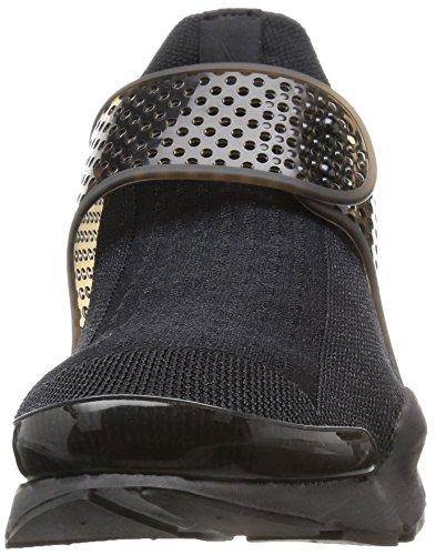 Nike Herren Sock Dart Laufschuhe Black (Schwarz / Schwarz-Volt)