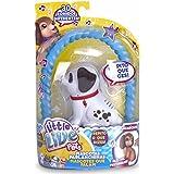 Little Live Pets - Sbark, mascota parlanchina cachorro, color blanco (Famosa 700012883B)