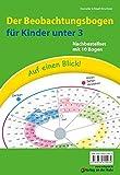 Auf einen Blick! Der Beobachtungsbogen für Kinder unter 3: Nachbestellset mit 10 Bogen
