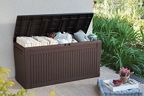Koll Living Auflagenbox/Kissenbox 270 Liter l 100% Wasserdicht l mit Belüftung dadurch kein übler...