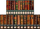 24 breite & schmale Ordnerrücken Bücher Lexikon Ordneraufkleber Aufkleber Deko