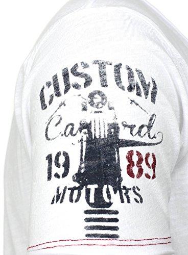 Key Largo -  T-shirt - Uomo White