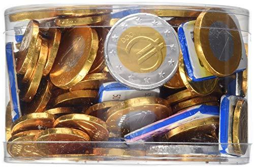 Wal Cor Euro Schokoladengeld + Banknoten Dose, 1 kg (Schokolade Schokolade-münzen)