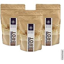BodyChange Brotbackmischung 3er Pack - glutenfrei, natürlich, paleo, ohne Weizen, zuckerarm - Hell ohne Körner