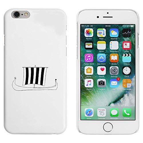 Azeeda Weiß 'Wikingerschiff' Hülle für iPhone 6 u. 6s (MC00179910)