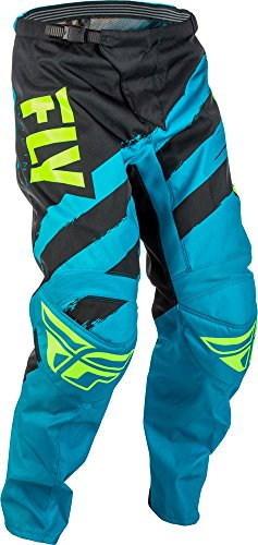 Fly Racing F-16 Motocross Hose, blau-schwarz, Größe: 42, MX Pant Mountainbike MTB (Hose 42 Dirt Bike)