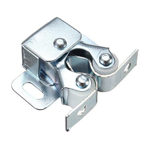 Doppel-tür-schränke (KUNSE Doppel-Rollen-Cupboard-Schrank Tür Gitter Hardware Mit Speerschlag-Chrome)