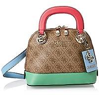 GUESS Womens Handbag, Brown/Multicolour - SG773705