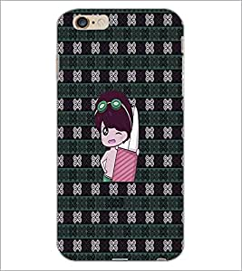 PrintDhaba Cartoon D-3307 Back Case Cover for APPLE IPHONE 6 (Multi-Coloured)