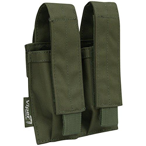 Viper Doppia Pistol Mag Sacchetto Verde Oliva - Doppia Pistol Mag Pouch