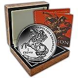 El 2015 Napoleón Bonaparte de alivio de moneda de plata