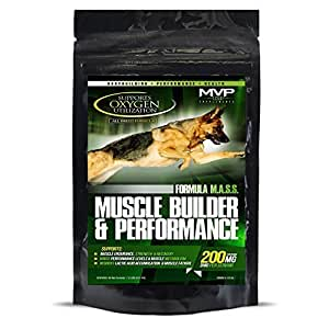 MVP K9 Muscle Builder and Performance Supplement 45gm Size:1 Pack by MVP K9 SUPPLEMENTS