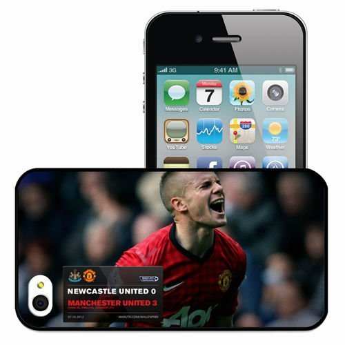 Personalized iPhone 4 4S Cell phone Case/Cover Skin 2013 beautiful tom cleverley x Black