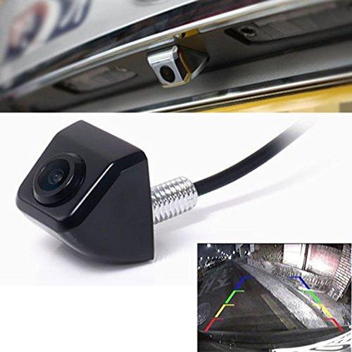 HARRYSTORE Car Rear View CCD 170° HD Color Astern Waterproof Camera Backup Parking (B)