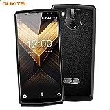 OUKITEL K10 Smartphone Android 4G 6.0 Pulgadas FHD 18: 9 Pantalla, batería de 11000mAh y Carga rápida de 5V / 5A, Octa Core 2.0GHz 6GB + 64GB, cámara cuádruple, reconocimiento Facial (Negro)