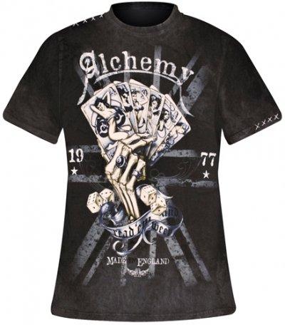 Alchemy England Apparel -  T-shirt - Uomo grigio Large