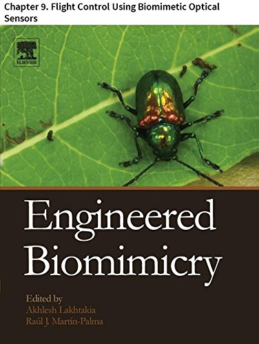 Engineered Biomimicry: Chapter 9. Flight Control Using Biomimetic Optical Sensors (English Edition) -