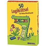 Moses 21082 - 50 Logikrätsel für kleine Rätselfreunde