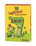 moses. 50 Logikrätsel für kleine Rätselfreunde | Kinderbeschäftigung | Kartenset