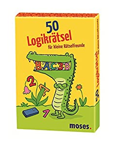 Moisés 21.082-50 Puzzles de lógica para los pequeños Rompecabezas Amigos