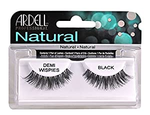 Ardell Invisi Brand Eye Lash DEMI Wispies Black Eye Lashes Natural 100% [1 Pair of Lashes.] by Ardell