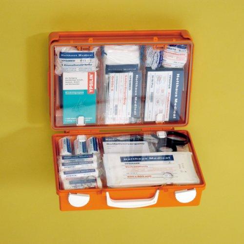 MULTI Erste-Hilfe-Koffer gefüllt mit ÖNORM Z 1020 Typ 2